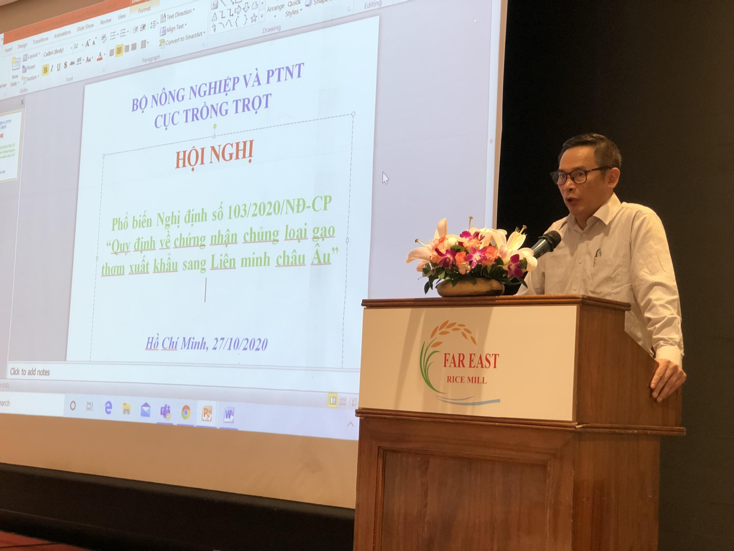 Ông Nguyễn Như Cường - Cục trưởng Cục Trồng trọt (Bộ NNPTNT)